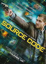 Source Code 2011 PG-13 sci-fi action adventure thriller movie, new DVD U.S Army