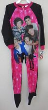 girls NEW NWT 1 DIRECTION BLANKET SLEEPER size 6 6X super soft pajama sleep wear