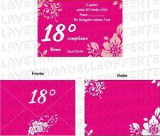 Inviti E Carta Da Lettere Per Feste E Occasioni Speciali Ebay