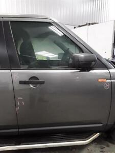 FRONT DOOR LAND ROVER DISCOVERY MK3 (LG) 2004 TO 2009 GREY DRIVERS SIDE WARRANTY