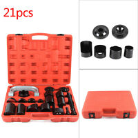 21PCS Auto Repair Remover Adapter Kit Ball Joint Separator Install Tool Set