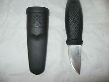 Mora Eldris neck knife with sheath Black stainless steel morakniv