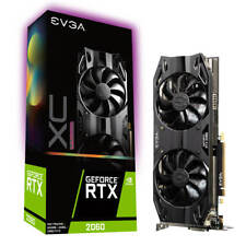 EVGA GeForce RTX 2060 XC ULTRA GAMING, 06G-P4-2167-KR, 6GB GDDR6, Dual HDB Fans