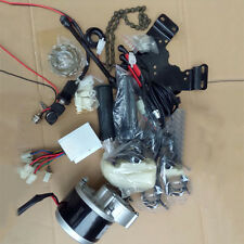 24V 250W Motors Electric Bicycle Assembly Part Brush Geared Conversion Kits WCV