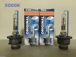 2PCS NEW D2R 66050 66250 5000K OEM HID XENON LIGHT BULBS SET HEADLIGHTS