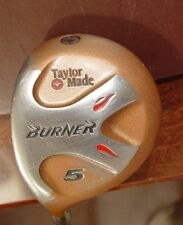 Men's LH Taylor Made Burner Bubble 5 Wood Graphite Stiff