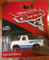 Disney Cars 3 Kris Revstopski Sealed New Mattel Diecast