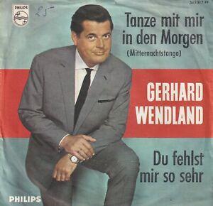 Single 7'' Gerhard Wendland - Tanze mit mir in den Morgen (Mitternachts-Tango)