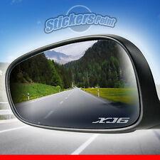 ADESIVI x specchietti moto XJ6 YAMAHA - PVC effetto vetro smerigliato stickers
