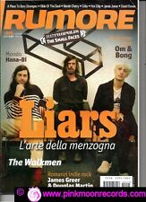 RUMORE 245/2012 LIARS THE WALKMEN THE SMALL FACES HOT CHIP DAVID BOWIE