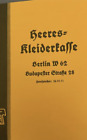 German WWII 1939 Edition Catalog book of German Uniforms and Equipment reprint/rPrice Guides & Publications - 171192