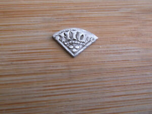 NICE HAMMERED KING HENRY III SILVER LONG CROSS CUT FARTHING QTR PENNY COIN A