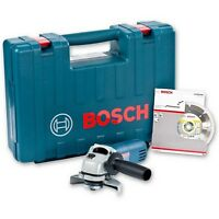Bosch GWS 850 Angle Grinder 115mm With Diamond Blade And Carry Case 240V