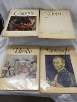 An Abrams Art Books, 16 Beautiful Full Color Prints Set of 4 Vintage - C05