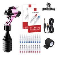 Dragonhawk MAST Tattoo Supplies Motor Rotary Machine Gun 20 Cartridge Needles