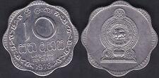 SRI LANKA   10 CENTS 1978   HIGH GRADE