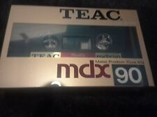 TEAC-BRAND NEW MDX-90-METAL CASSETTE TAPE-TYPE IV-EXCELLENT CONDITION