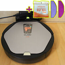 iClebo Arte Ycr-M05-20 Intelligent Robot Vacuum Cleaner / Silver + Catch mop