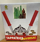 La Tappatrice Universal Homebrew Beer Wine Bottle Capper Made Italy. Used W/ Box