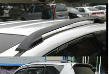 Aluminum Roof Rails Rack Luggage Carrier Bars Trim for Toyota Rav4 2006-2012