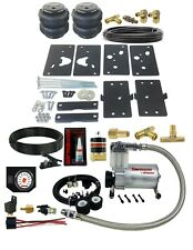 Air Tow Assist Load Level Kit White Gauge In Cab Fits 14-20 Dodge Ram 2500 Truck