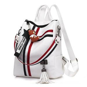 Damen Rucksack Qualität Leder Tragetasche Multifunktion Weichen Schultertasche