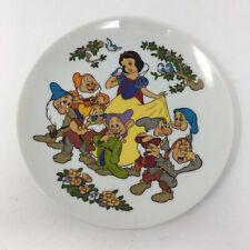 Goebel Disney Snow White And The Seven Dwarfs Collectors Plate Walt Disney