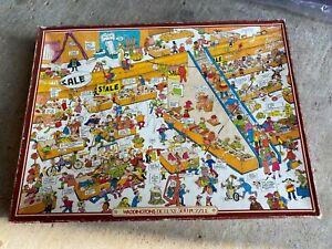 At The Big Sale Humour Comic Fun 500 piece Waddingtons Jigsaw Puzzle 🧩