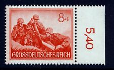 Germany . 1944 Wehrmacht Grenade Throwers (B261) . Mint Never Hinged