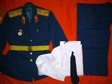 Soviet USSR Military Uniform of Medical service. Set.