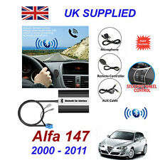 Alfa 147 Bluetooth Hand Free Phone AUX Input MP3 USB 1.0A Charger Module 00-11