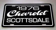 1976 Chevrolet Scottsdale pickup truck license plate tag 76 Chevy C10 half ton