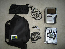 Casio TV-1900 handheld TV, Panasonic Radio Tape compacy player, Carrying Pouchs