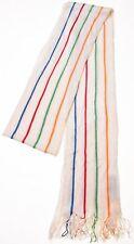 MISSONI Womens Scarf One Size Beige Striped Vintage A103