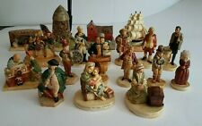 Vintage Sebastian P.W. Bastion Miniatures - Lot Of 19 Figurines 1940S 1950S