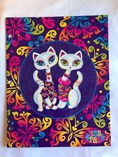 Lisa Frank Black White Cat Pair Roxi & Rollie 2-Pocket Folder