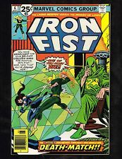 "Iron Fist #6 ~ Colleen Wing vs. Iron Fist / ""Death Match!""~ 1976 (8.5) WH"