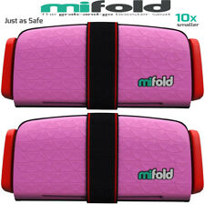Mifold 2-Pack MF01-US/PNK Grab-and-Go Car Booster Seat (Perfect Pink)