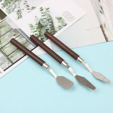 3pcs/set painting palette knife spatula mixing paint stainless steel art knifVe