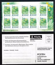 [58612] Aland 1999 Flowers Nature Booklet MNH