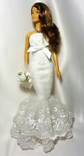 OOAK BARBIE SPOSA Series 1 bambolotto e vestito