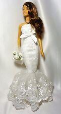 OOAK BARBIE SPOSA Series 1 bambolotto e vestito