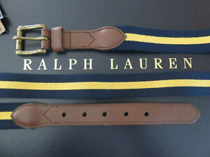 Polo RALPH LAUREN Belt Men's Rugby Stripe 32/40/42