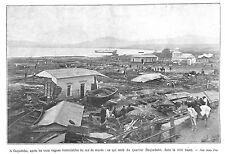 CHILI CHILE COQUIMBO QUARTIER BAQUEDANO TREMBLEMENT DE TERRE IMAGE 1922