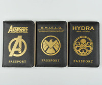Avengers Agents of S.H.I.E.L.D HYDRA SHIELD Passport Cover Travel Case Holder