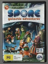 SPORE galactic adventures expansion pack  (PC game) 2008 Original DVD Case