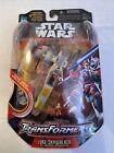 Star Wars Transformers Luke Skywalker X-Wing Fighter Hasbro 2005 MOC Lucas Films For Sale