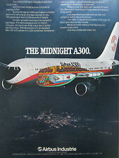 7/1975 PUB AIRBUS INDUSTRIE A300 AIRLINER ECORCHE AIRLINE ORIGINAL AD