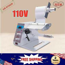 110v Professional Automatic Label Dispenser Stripper Separating Machine