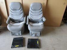 2003 CHEVY EXPRESS RV SAVANA VAN 2ND ROW CAPTAIN BUCKET SEATS W/ BELTS BRACKETS